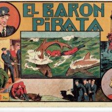 Tebeos: ARCHIVO * EL HOMBRE ENMASCARADO * Nº 16. EL BARÓN PIRATA * HISPANO AMERICANA 1941 *. Lote 267446154