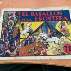 Tebeos: CARLOS EL INTREPIDO Nº 5 EL BATALLON DE LA FRONTERA (ORIGINAL HISPANO AMERICANA) (COIB61). Lote 267819129