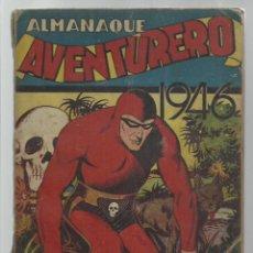 Tebeos: AVENTURERO, ALMANAQUE 1946, HISPANO AMERICANA. Lote 269083948