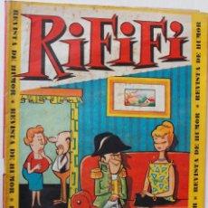 Tebeos: RIFIFI, EDITORIAL HISPANO AMERICANA AÑO 1966, NÚMEROS 5 Y 11. Lote 269117378
