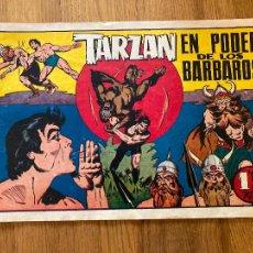 Tebeos: TARZAN EN PODER DE LOS BARBAROS - 1,50 PTAS - HISPANO AMERICANA - ORIGINAL - GCH. Lote 269192173