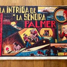 Tebeos: LA INTRIGA DE LA SEÑORA PALMER - 1,50 PTAS - HISPANO AMERICANA - ORIGINAL - GCH. Lote 269192628