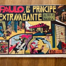 Tebeos: MERLIN EL REY DE LA MAGIA / PAULO, EL PRINCIPE EXTRAVAGANTE - HISPANO AMERICANA - ORIGINAL - GCH. Lote 269192963