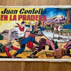 Tebeos: JUAN CENTELLA EN LA PRADERA - 1 PTA - HISPANO AMERICANA - ORIGINAL - DIFICIL - GCH. Lote 269193603
