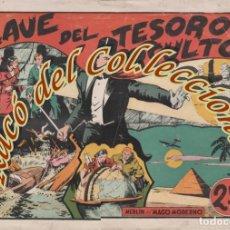 Tebeos: MERLIN EL MAGO MODERNO N. 5 EXTRAORDINARIO, LA CLAVE DEL TESORO OCULTO, HISPANO AMERICANA, ORIGINAL. Lote 269380753