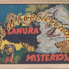 Tebeos: LA LLANURA MISTERIOSA, ALBUMES PREFERIDOS DE LA JUVENTUD,HISPANO AMERICANA, ORIGINAL, 1943. Lote 269383748