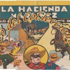 Tebeos: JINETE ENMASCARADO N. 2, LA HACIENDA MARTINEZ , HISPANO AMERICANA, ORIGINAL, 1943. Lote 269385718