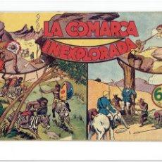 Tebeos: ARCHIVO *JORGE Y FERNANDO * Nº 21: LA COMARCA INEXPLORADA * HISPANO AMERICANA1940 *. Lote 269488203