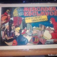 BDs: EL HOMBRE ENMASCARADO - EL MERCADER DE ESCLAVOS - ORIGINAL. Lote 269724198