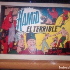 BDs: EL HOMBRE ENMASCARADO HAMID EL TERRIBLE HISPANO AMERICANA ORIGINAL. Lote 269726738