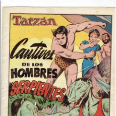 Tebeos: ARCHIVO * TARZAN Nº 6. SERIE LA SELVA * HISPANO AMERICANA 1949 *. Lote 271616198