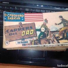 Tebeos: EL PEQUEÑO SHERIFF EDITORIAL HISPANO AMERICANA -- NUM 70. Lote 271634998