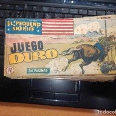 Tebeos: EL PEQUEÑO SHERIFF EDITORIAL HISPANO AMERICANA -- NUM 72. Lote 271635343