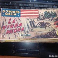 Tebeos: EL PEQUEÑO SHERIFF EDITORIAL HISPANO AMERICANA -- NUM 88. Lote 271637508