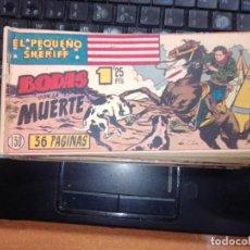Tebeos: EL PEQUEÑO SHERIFF EDITORIAL HISPANO AMERICANA -- NUM 130. Lote 271639243