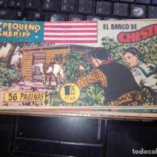 Tebeos: EL PEQUEÑO SHERIFF EDITORIAL HISPANO AMERICANA -- NUM 136. Lote 271640058