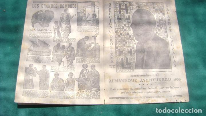 Tebeos: AVENTURERO PEQUEÑO 166 ULTIMO ALMANAQUE EXTRAORDINARIO ESTINTIN - Foto 5 - 271676898