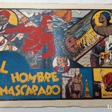 Tebeos: ORIGINAL EL HOMBRE ENMASCARADO , Nº 1 - EDITORIAL HISPANO AMERICANA AÑOS 40. Lote 272238858