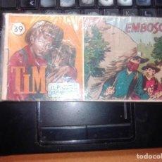 Tebeos: TIM. EL PEQUEÑO VAGABUNDO. Nº 39. HISPANO AMERICANA DE EDICIONES. 1950.. Lote 273717913