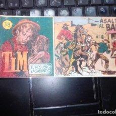 Tebeos: TIM. EL PEQUEÑO VAGABUNDO. Nº 38. HISPANO AMERICANA DE EDICIONES. 1950.. Lote 273717978