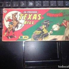 Tebeos: TEXAS BILL Nº 59 - HISP. AMER. DE EDIC. - ORIGINAL. Lote 273718113