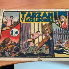 Tebeos: TARZAN Y LOS LEONES (ORIGINAL HISPANO AMERICANA) (COIB158). Lote 273987283