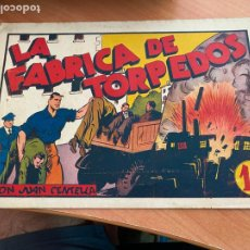 Tebeos: JUAN CENTELLA Nº 47 LA FABRICA DE TORPEDOS (ORIGINAL HISPANO AMERICANA) (COIB-204). Lote 274722508