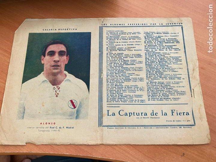 Tebeos: CARLOS EL INTREPIDO Nº 18 LA FORTALEZA DE ALAMUT (ORIGINAL HISPANO AMERICANA) (COIB-204) - Foto 2 - 274725793