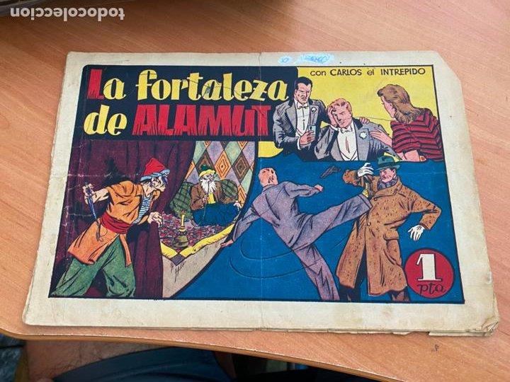 CARLOS EL INTREPIDO Nº 18 LA FORTALEZA DE ALAMUT (ORIGINAL HISPANO AMERICANA) (COIB-204) (Tebeos y Comics - Hispano Americana - Carlos el Intrépido)
