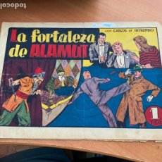 Tebeos: CARLOS EL INTREPIDO Nº 18 LA FORTALEZA DE ALAMUT (ORIGINAL HISPANO AMERICANA) (COIB-204). Lote 274725793