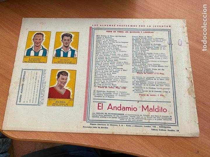Tebeos: CARLOS EL INTREPIDO Nº 10 EL COMBATE (ORIGINAL HISPANO AMERICANA) (COIB-204) - Foto 2 - 274726348