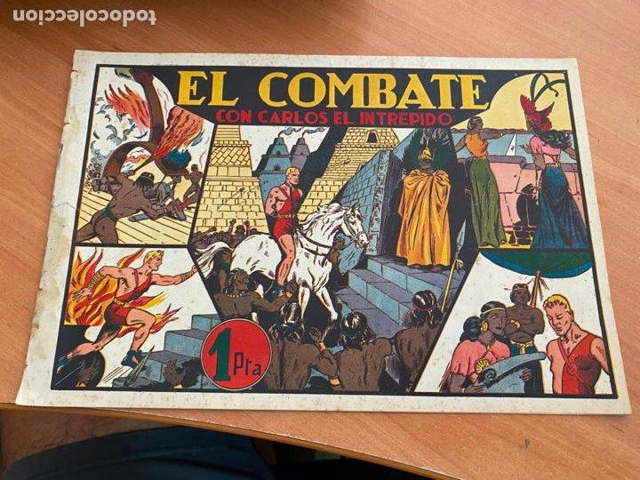 CARLOS EL INTREPIDO Nº 10 EL COMBATE (ORIGINAL HISPANO AMERICANA) (COIB-204) (Tebeos y Comics - Hispano Americana - Carlos el Intrépido)