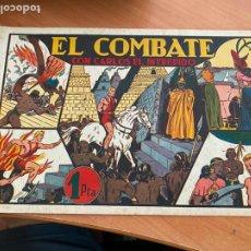 Tebeos: CARLOS EL INTREPIDO Nº 10 EL COMBATE (ORIGINAL HISPANO AMERICANA) (COIB-204). Lote 274726348