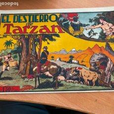 Tebeos: TARZAN Nº 10 EL DESTIERRO (ORIGINAL HISPANO AMERICANA) (COIB-204). Lote 274727568