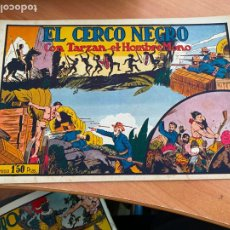Tebeos: TARZAN Nº 11 EL CERCO NEGRO (ORIGINAL HISPANO AMERICANA) (COIB-204). Lote 274727873
