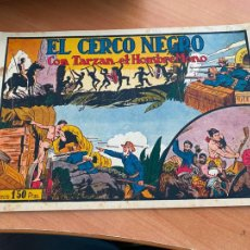Tebeos: TARZAN Nº 11 EL CERCO NEGRO (ORIGINAL HISPANO AMERICANA) (COIB-204). Lote 274728613