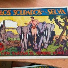 Tebeos: TARZAN Nº 9 LOS SOLDADOS DE LA SELVA (ORIGINAL HISPANO AMERICANA) (COIB-204). Lote 274728923