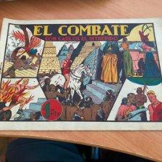 Tebeos: CARLOS EL INTREPIDO Nº 10 EL COMBATE (ORIGINAL HISPANO AMERICANA) (COIB-204). Lote 274792148