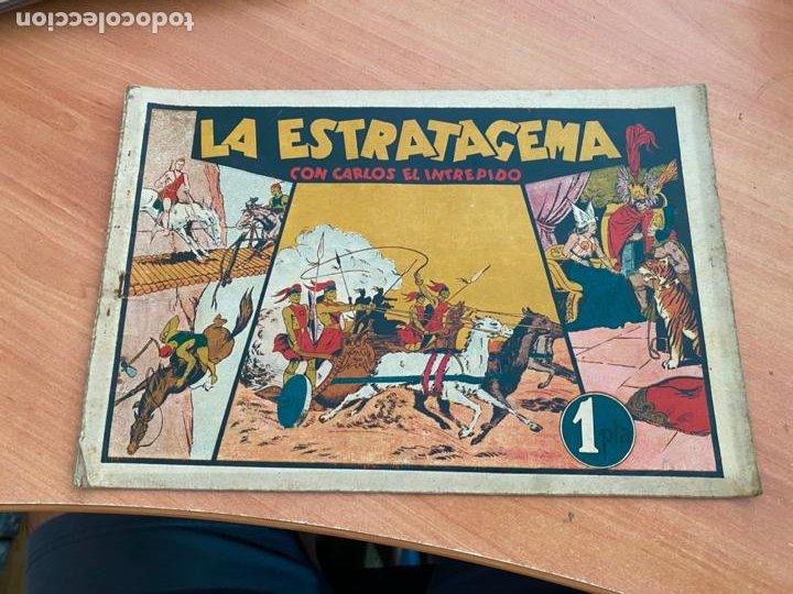CARLOS EL INTREPIDO Nº 9 LA ESTRATAGEMA (ORIGINAL HISPANO AMERICANA) (COIB-204) (Tebeos y Comics - Hispano Americana - Carlos el Intrépido)