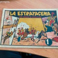 Tebeos: CARLOS EL INTREPIDO Nº 9 LA ESTRATAGEMA (ORIGINAL HISPANO AMERICANA) (COIB-204). Lote 274808008