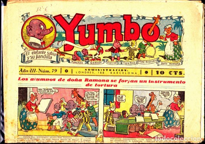 COMIC COLECCION YUMBO Nº 79 (Tebeos y Comics - Hispano Americana - Yumbo)
