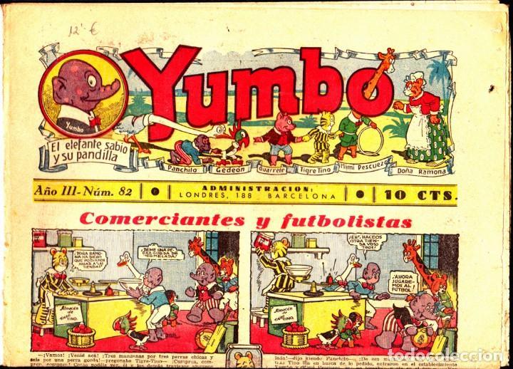 COMIC COLECCION YUMBO Nº 82 (Tebeos y Comics - Hispano Americana - Yumbo)