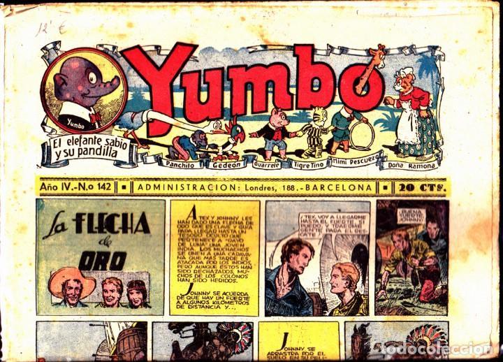 COMIC COLECCION YUMBO Nº 142 (Tebeos y Comics - Hispano Americana - Yumbo)