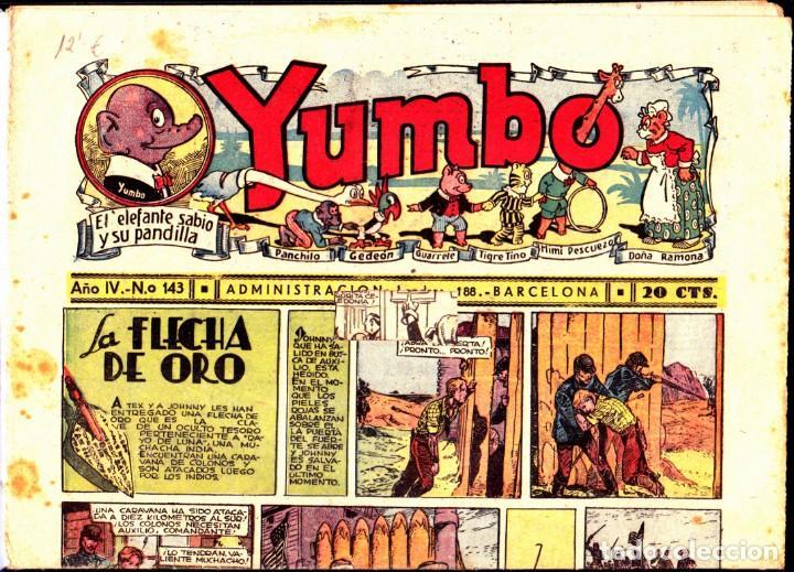 COMIC COLECCION YUMBO Nº 143 (Tebeos y Comics - Hispano Americana - Yumbo)