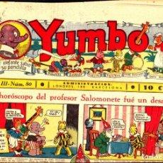 Tebeos: COMIC COLECCION YUMBO Nº 80. Lote 275095328
