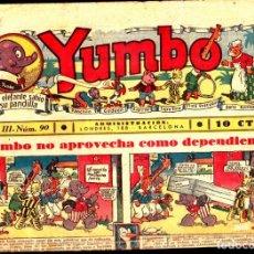 Tebeos: COMIC COLECCION YUMBO Nº 90. Lote 275095368