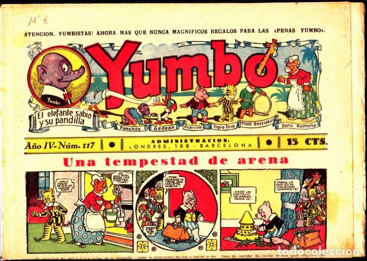 COMIC COLECCION YUMBO Nº 117 (Tebeos y Comics - Hispano Americana - Yumbo)