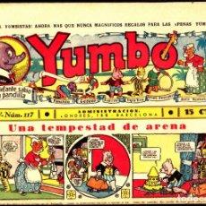 Tebeos: COMIC COLECCION YUMBO Nº 117. Lote 275095413