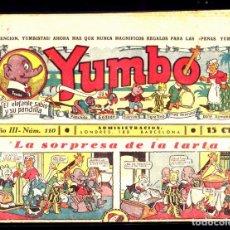 Tebeos: COMIC COLECCION YUMBO Nº 110. Lote 275101338