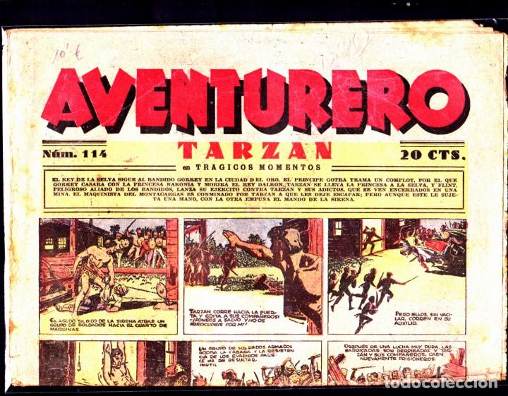 COMIC COLECCION AVENTURERO Nº 114 (Tebeos y Comics - Hispano Americana - Aventurero)